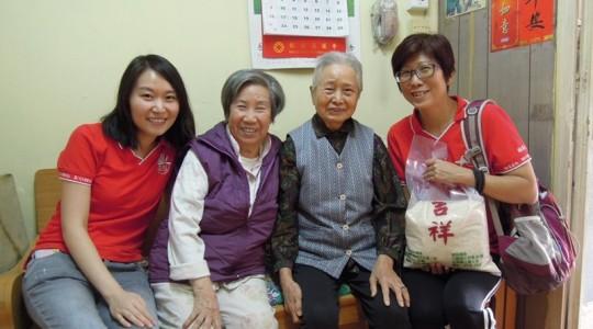 香港佛光道塲慈善組 「豐衣足食在啟業」