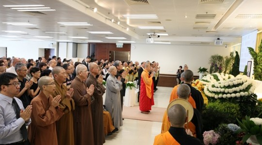 人間佛教行者嚴寬祜 追思會寧靜莊嚴