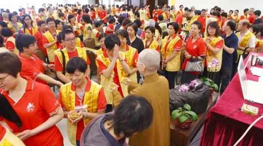 國際佛光會香港協會2014新進會員講習會 「人間佛教」與我