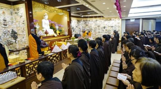 星雲大師88歲華誕 香港信眾香花獻祝福