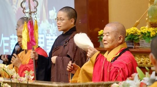 香港佛光道場在『家』舉行 「2014星雲大師甘露灌頂三皈五戒典禮」