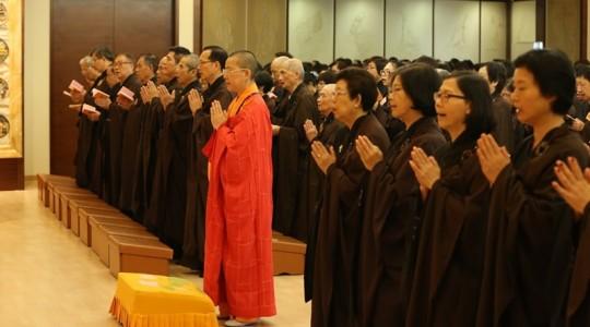 600信眾雲集 一心至誠讚頌及紀念觀世音菩薩的成道日