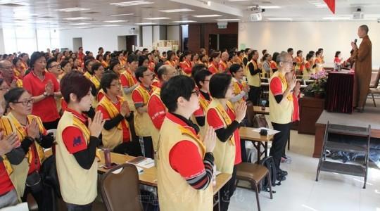 2014年第一次腦震盪 香港佛光協會幹部講習會