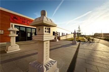 法國法華禪寺也有佛光緣美術館。 圖/人間通訊社提供
