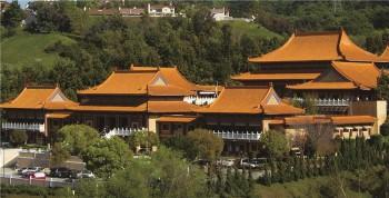 美國西來寺全景。 圖/人間通訊社提供