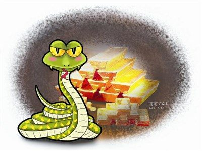 星雲說喻 -- 蟒蛇護金|人間福報