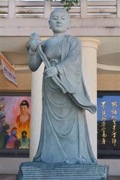 佛陀紀念館女羅漢─蓮華色比丘尼