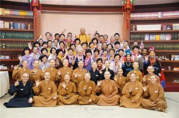 馬來西亞佛光親屬歡喜參與佛光親屬會。 圖/人間通訊社提供