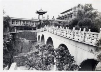 佛光山寶橋銜接兩山之間的通道。 圖/佛光山寺提供