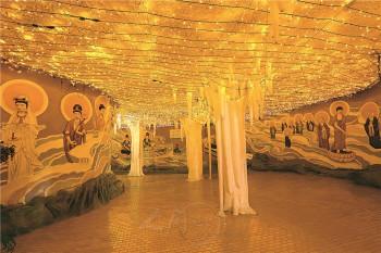 佛光山淨土洞窟。 圖/佛光山寺提供