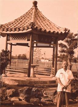 《覺世》旬刊創辦人張少齊長者。 圖/佛光山寺提供