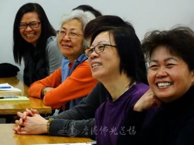 梁耀輝先生風趣幽默帶出主題,逗得大家好開心。