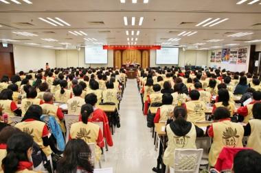 近300會員聚首一堂,互相交流。