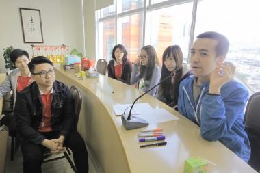 各組青年分享了自己的觀點和想法,以及電影中印象深刻的片斷。