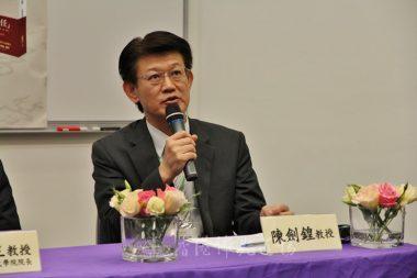 香港大學人間佛教研究中心主任陳劍鍠教授期待專家學者於交流中,擦出智慧的火花。