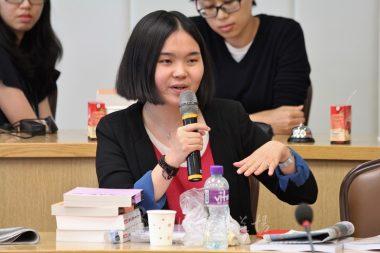 香港大學社會工作研究生楊麗穂表示,「旁聽兩天過得非常快,因為很充實」