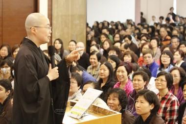 覺毓法師講說學佛的目標。