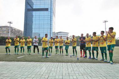 賽前如來之子先來一段巴西森巴舞,引來滿場球迷喝采。