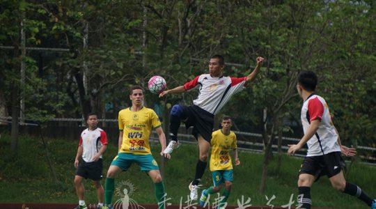 如來之子出征香港懲教署足球隊 共結善緣