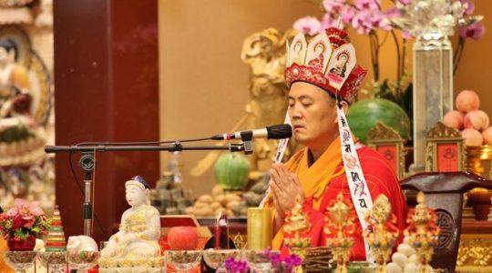 2016瑜伽焰口法會第五場 佛光普照 共沐佛恩