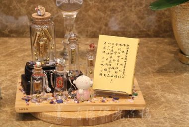 《梁皇寶懺》卷九供書。佛教經典由富有文學造詣及對佛法有認知的祖師大德翻譯編著,為重要的世間寶。(人間社記者葉偉炳拍攝)