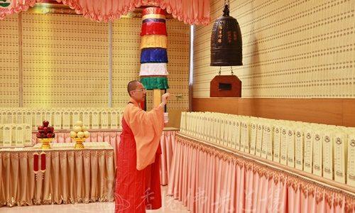 彌陀佛七法會第一天 全力以赴 熟能生巧