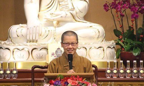 聰敏靈巧佛學講座「我所看到的師父」 一代宗師 力行身教