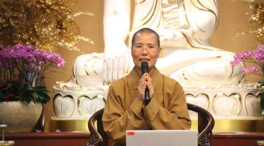 名聲天曉六月份佛學講座「人間佛教 翻轉人生」 改變觀念 如實修行