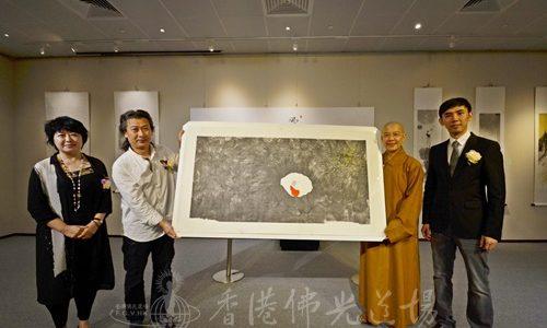 佛語禪心‧田旭桐禪意水墨作品巡迴展  禪心妙悟 當下是佛