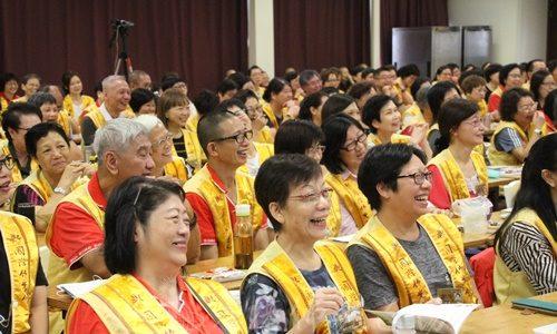 國際佛光會香港協會2017年第四次幹部會議  護持正法 力爭上游