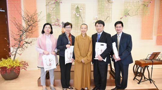 博愛醫院總監參訪香港佛光道場