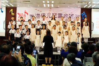 香港佛光兒童合唱團 初試啼聲潛力無窮