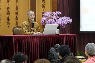 修身養心存善念 安於佛法自在人