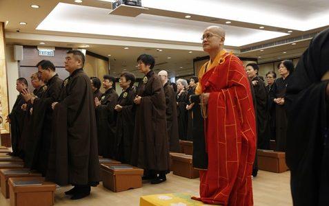 2019年瑜伽焰口修持第四梯次 祈願光明 普照香港