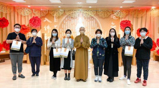 中大碩士生參訪道場 學以貫用弘揚人間佛教